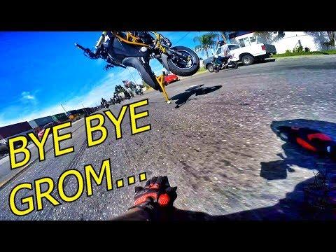 GROM GOES FLYING!!