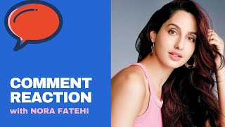 NORA FATEHI reacts on her Instagram Picture Comments with Tulsi Kumar | O SAKI SAKI | Batla House