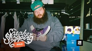 Action Bronson Goes Sneaker Shopping With Complex
