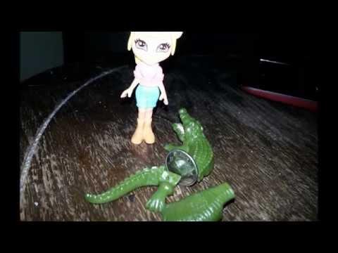 girl and crocodile
