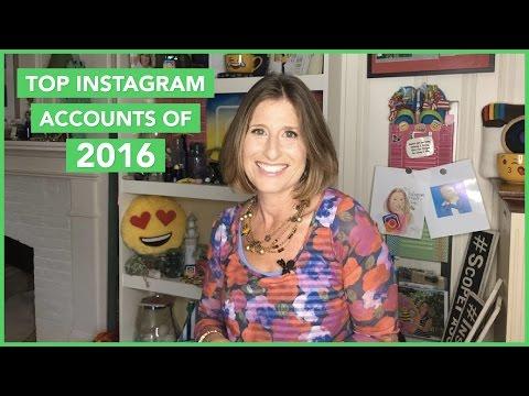 Top Instagram Accounts of 2016