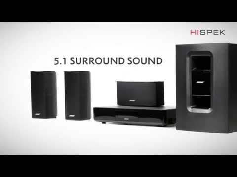 Bose Cinemate 520 5.1 Home Cinema System with 4K passthrough and Wreless Acoustimass Module