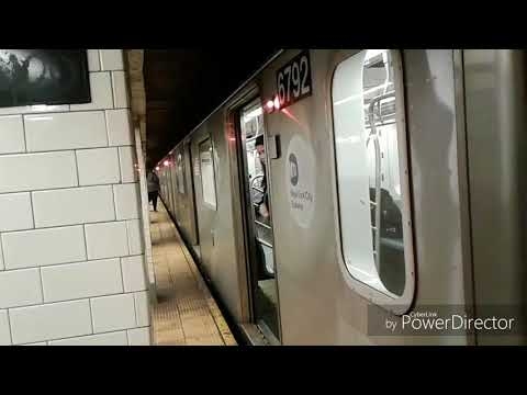 NYC Subway: 4, 5, and 6 Train Action at Wall Street (Plus Bonus Clips at Other Stations)