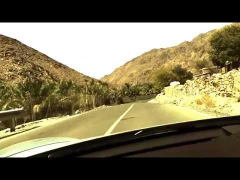 Porsche Cayman s Fujairah Mountains Drive