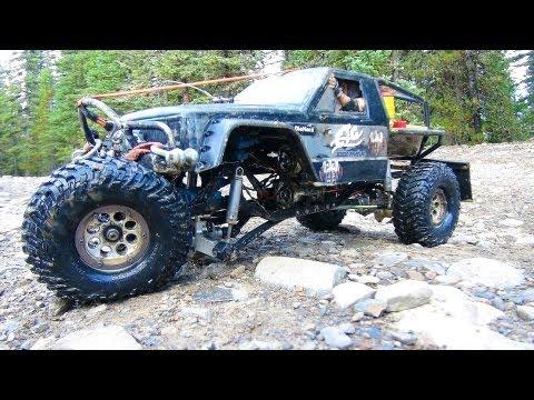 RC ADVENTURES - TTC 2013 - TANK TRAP - 4X4 Tough Truck Challenge