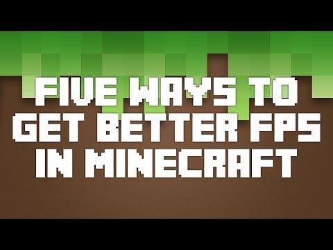 ► 5 WAYS TO GET BETTER FPS! (Minecraft Tutorial)◄
