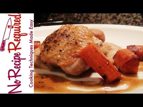 How to Cook Chicken Thighs - NoRecipeRequired.com