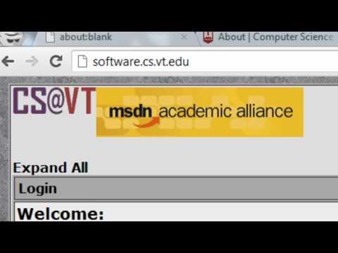 Quick Tech: Download Windows 8 as a Virginia Tech Computer Science student