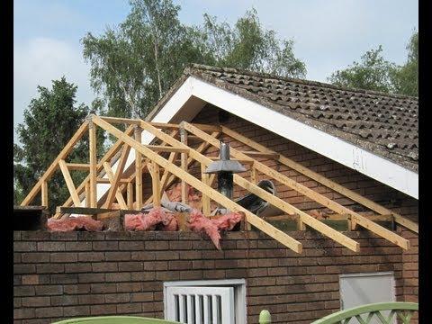 Garage Roof  Replacement  DIY.wmv
