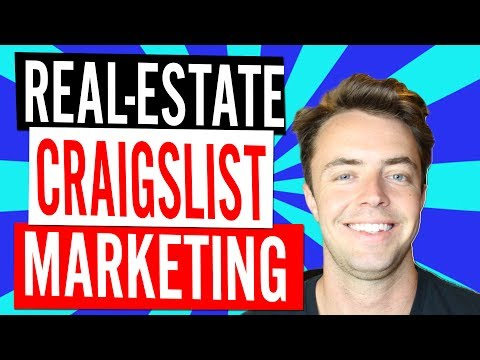 Craigslist Real-Estate Leads & Marketing Tips
