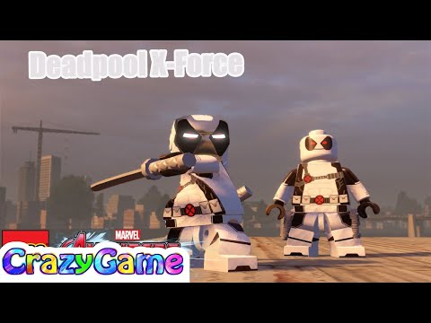 How to Make Ironpool & Deadpool X-Force in LEGO MARVEL's Avengers MOD