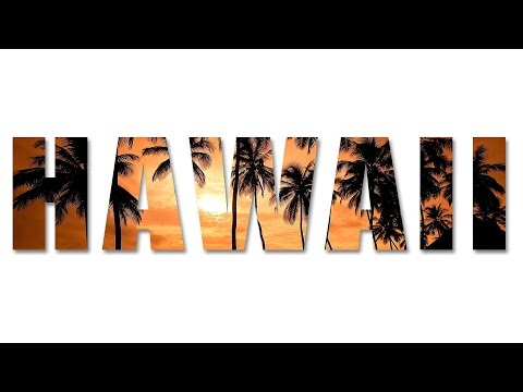 HAWAII Text Effect in Photoshop CC, CS6, CS5 | Photoshop Text Effects