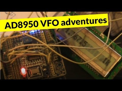 Arduino for Amateur Radio: DDS VFO using the AD9850 - PakVim net HD