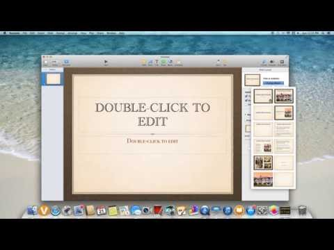 How to create a Powerpoint on iMac or Mac
