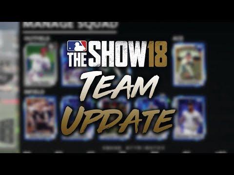 Diamond Dynasty Team Update! So Many Diamonds! MLB The Show 18 Diamond Dynasty