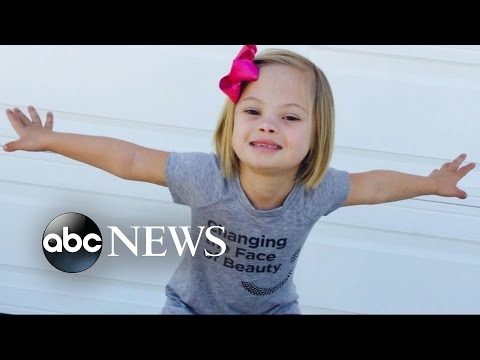 Girl Tells the World That Down Syndrome Is 'Not Scary'