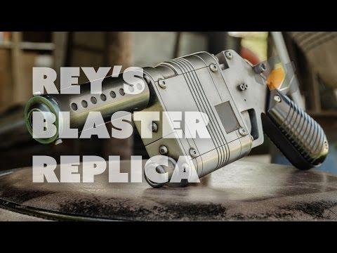 How to Make Rey's Star Wars Blaster - Prop: Shop Tutorial