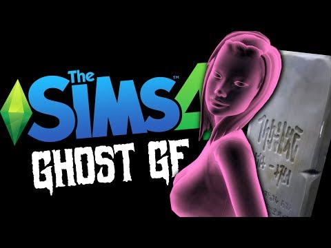 MY GHOST GIRLFRIEND - Sims 4 Funny Moments #13