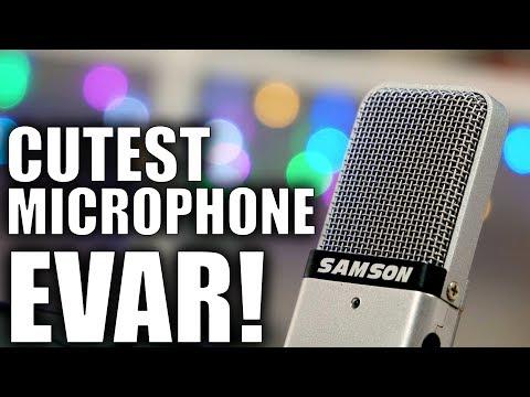 Samson Go Mic Review: Cutest Travel Microphone EVAR!