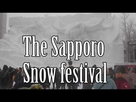 Sapporo snow festival, Hokkaido food and Hatsune Miku. 2018