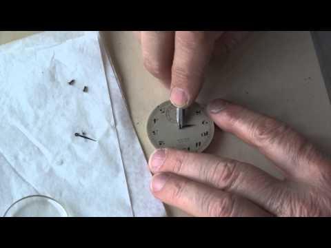 Cyma Prima- Pocket watch cleaning