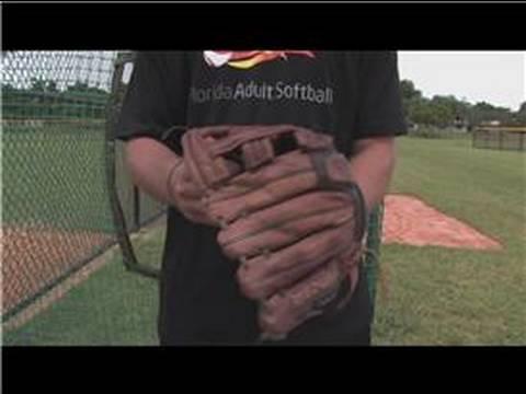 Baseball & Softball : How to Break in Softball Gloves