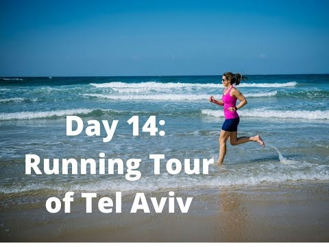 Running around Tel Aviv