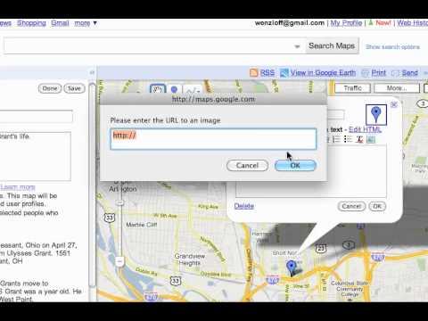 Google Maps - Adding an Image