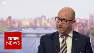 UKIP leader Paul Nuttall on burka ban - BBC News