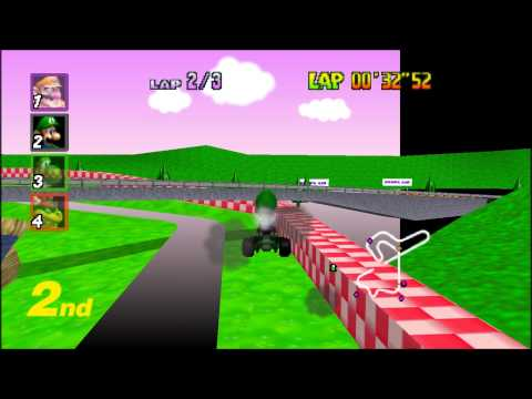Mario Kart 64 - 1000cc (Part 3/4: Barely Playable)