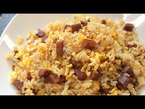 How to Make Easy Spam and Garlic Fried Rice ||