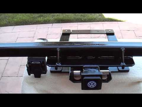73 to 79 Type 2 VW Bay Window Bus Trailer Hitch Part 1