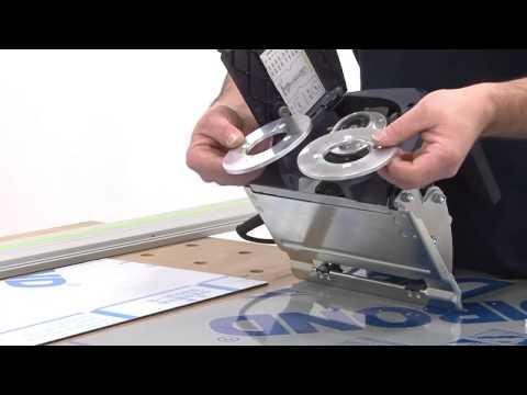 Festool ACP German Aluminium composite Milling Routing V groove Cutting Machine. Now in India.