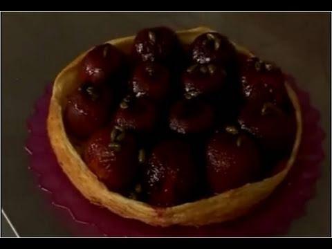 Recette de tarte renversée aux prunes