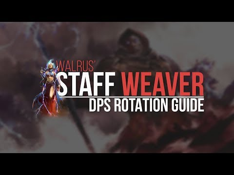 Staff Weaver DPS Rotation Guide