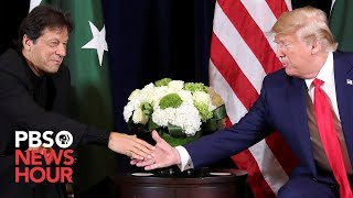 WATCH LIVE: Trump meets with Pakistan prime minister at UN General Assembly