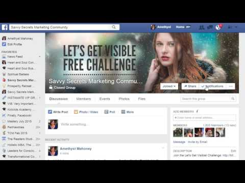 How To Turn On Notifications in Facebook Groups
