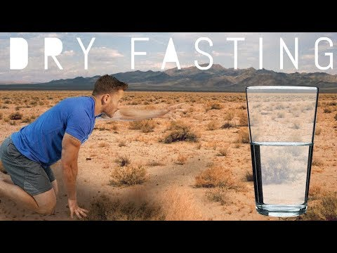 Dry Fasting: How to Break a Dry Fast the Healthy Way- Thomas DeLauer
