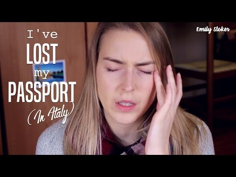 I Lost My Passport Abroad