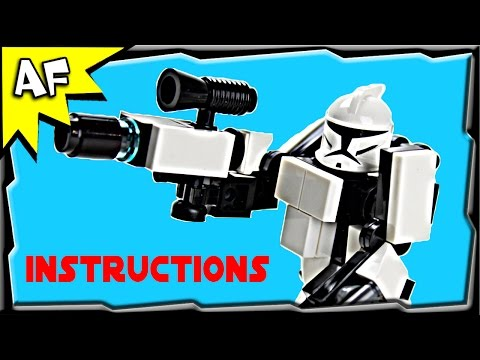 Star Wars Clone Trooper HARDSUIT ARMOR Instructions from Custom R/C Turbo Tank