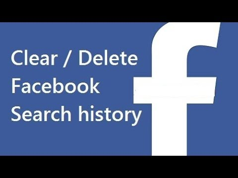 Permanent remove Facebook Search History suggestion 2018