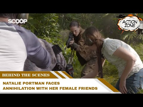Natalie Portman faces Annihilation with her female friends