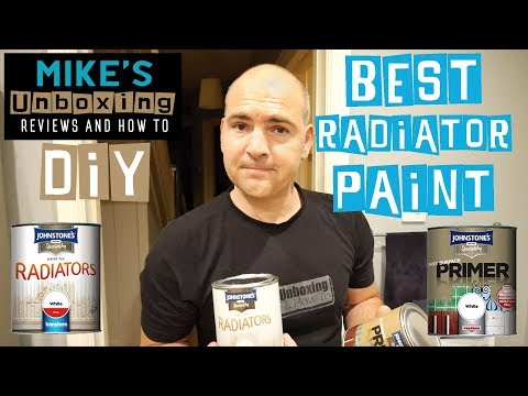 Best Paint For Radiators? Johnstones Or Hammerite? Restore a radiator