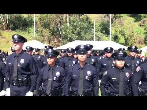 LAPD Academy Ceremony