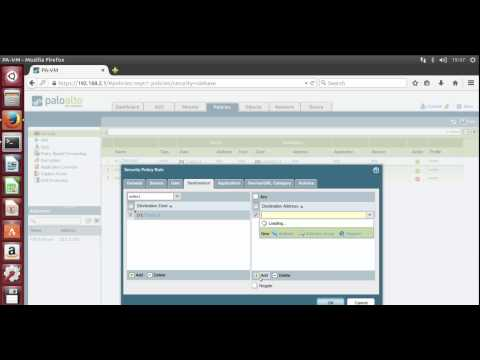 2. Palo Alto Networks Firewall NAT Configuration