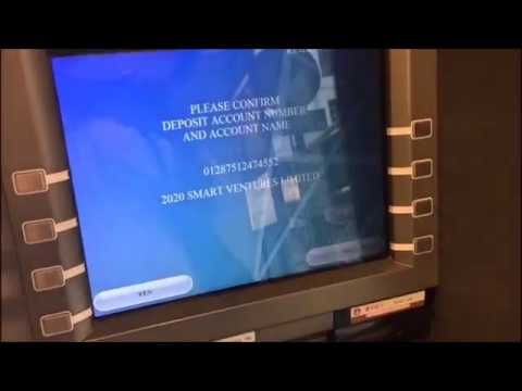 How to deposit money at ATM: Bank of China (Indonesian)