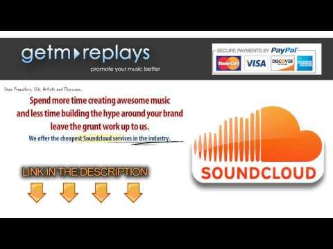 Get Soundcloud Plays Cheap and Buy Soundcloud Comments