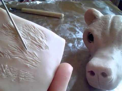 Sculpting Fur Tutorial clay