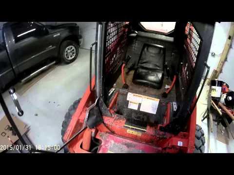 Homemade skid steer door part 3 Final fit