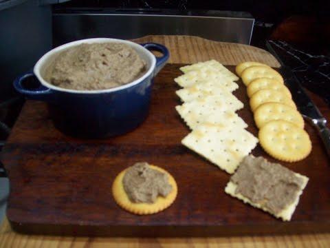 Easy Tasty Chicken Liver Pâté Recipe/ Chicken & Brandy Spread (Dip)
